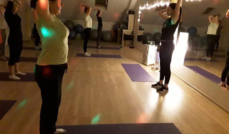 sveika nugara aerobinis šokis