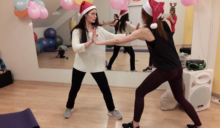 kalėdinė treniruotė