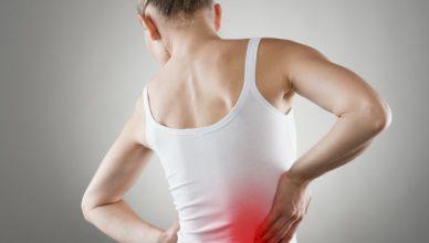 nugaros skausmai