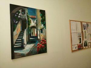 tapybos paroda lieknejimo centre