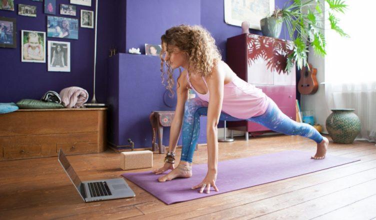 online treniruotės namuose